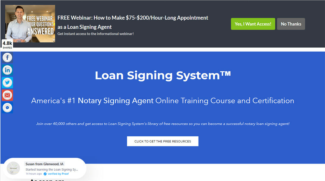 Signing Agent Training By The Loan Signing System – Review